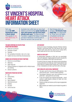 Heart Attack Information Sheet