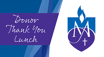 Donor Thank You Lunch - Monday 28 October 2019
