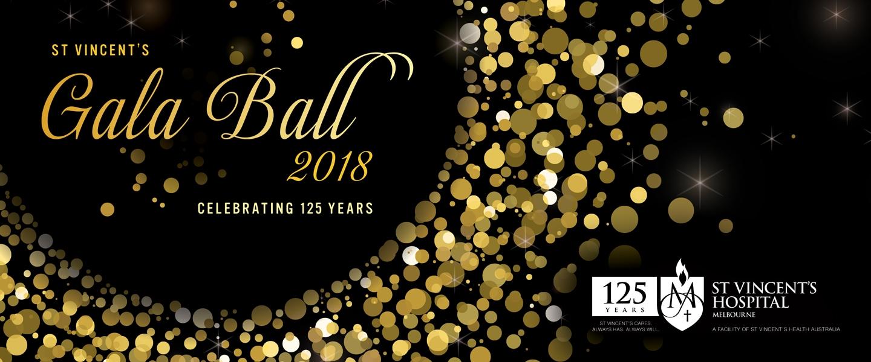 St Vincent's Gala Ball 2018